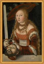 Judith with the Head of Holofernes Lucas Cranach der Ältere Köpfen B A2 02812