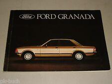 Betriebsanleitung Handbuch Ford Granada (MK II), Stand 07/1977