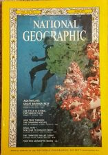 National Geographic magazine June 1973 Great Barrier Reef, Canadian Trail, Man