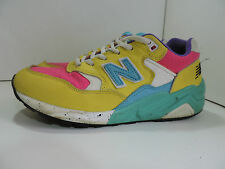 New Balance 580 Rollbar Yellow Pink Green Blue White Mens Size Uk 6 EU 39