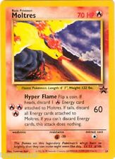 MOLTRES (2000 MOVIE) - POKEMON - BLACK STAR PROMO CARD #21 - OPENED and SLEEVED