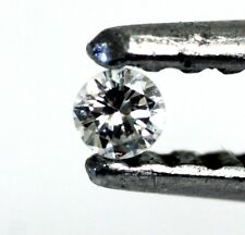 loose individual round diamond melee 1.8mm VS F G 0.02ct vintage estate antique