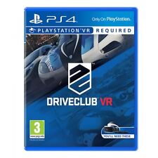 Drive Club Game PS4 (PSVR Required) Brand New