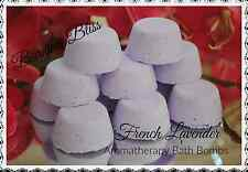 FRENCH LAVENDER Aromatherapy Bath Bombs with Coconut OIl BULK BUY, PACK OF 50