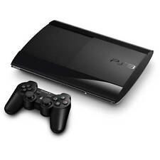 Sony Playstation 3 500GB Slim Blu ray Controller Bluetooth Black Console