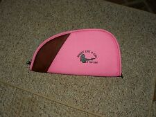 "SHOOT LIKE A GIRL if you can Pistol Rug / Case 11"" 1911 size target rifle skeet"