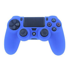 For Playstation 4 PS4 Controller Soft Silicone Rubber Case Blue Cover Skin New