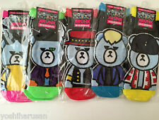 KPOP BIGBANG KRUNK Bear Socks G-DRAGON TOP VI SOL D-LITE set from Japan