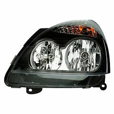Headlight, fits Renault Clio 2 01- 04 Left (Black) | HELLA 1LB 008 461-551