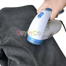 Electric Clothes Lint Pill Fluff Remover Fabrics Sweaters Fuzz Shaver RS
