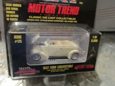"1937 Ford CONVERTIBLE Cream color  Racing Champions mint 1:58 Scale 3.25"" 9,998"