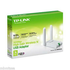 TP-Link TL-WN822N USB N300 300mbps Wireless Adapter 3dbi Brand new Retail