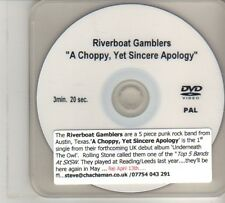 (DO848) Riverboat Gamblers, A Choppy, Yet Sincere Apology - DJ DVD