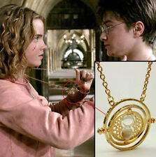 Harry Potter Hermione Granger TIME TURNER Hourglass Pendant Necklace Jewelry