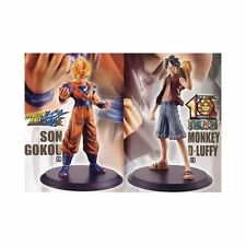 Collaboration dream! [Dragon Ball Kai One Piece DX Figure Luffy] Japan new.