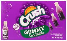 Grape Crush Gummy Soda Bottles