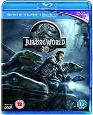 JURASSIC WORLD 2D/3D/UV BD  Blu-Ray NEW