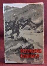 DEFENDING KASHMIR Personal Copy of Capt. 1st Gorkha Rifles WWII Indian Army 1949