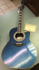 OVATION COLLECTORS SERIES MOD 1989-8 USA MADE