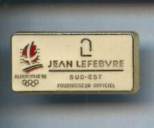 RARE PINS PIN'S .. OLYMPIQUE OLYMPIC ALBERTVILLE  92 LEFEBVRE¤8B