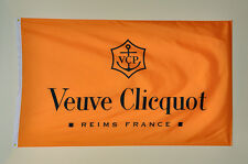 VEUVE CLICQUOT banner flag HIGH QUALITY MINT 3' x 5' one-sided with Grommets