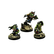 Ork War2 Goblin Grease Monkeys Assistants Kromlech Resin KRM069