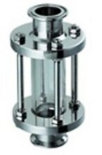 """Stainless Steel 1"""" Inline Sight Glass Sanitary 3A"""