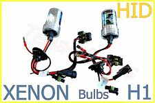 2x H1 35W 6000K Xenon Car HID Light Beam Replacement Bulbs Kit Head Lamps 12V DC