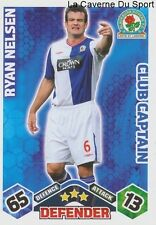 RYAN NELSEN NEW ZEALAND BLACKBURN ROVERS CAPTAIN CARD PREMIER LEAGUE 2010 TOPPS