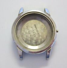 GRUEN 560 SS GUILD AUTOWIND STAINLESS STEEL WATCH CASE ONLY GENEVE