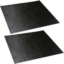 2 Stück Adam Hall 87INLAY - Anti-Rutschmatte für Rackschubladen 40 x 37 cm