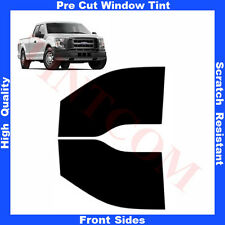 Pre Cut Window Tint Ford F-150 Super Cab 2 Doors 2015-... Front Sides Any Shade