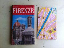 guida pratica con cartina a parte dei monumenti di firenze ed. il turismo 1978