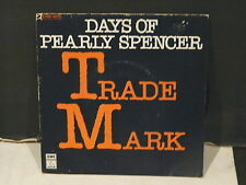TRADE MARK Days of Pearly Spencer 2C008 14570