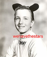 Vintage Tommy Cole MOUSEKETEER '58 MICKEY MOUSE CLUB TV Publicity Portrait
