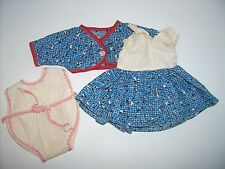Vtg Tiny Tears dress & romper doll clothes 1950's  American Character doll