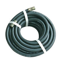 10m / 30 Foot -Air Line Rubber Hose- 20Bar Pressure, 6mm BSP Female Nut Fitting