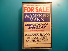 "MANFRED MANN  "" SEMI-DETACHED SUBURBAN 20 GREATEST HITS OF THE 60's ""  CASSETTE"