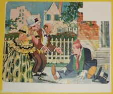 Bringing Up Father  1930s Jiggs Falling Down Cartoon Puzzle! Nice See!