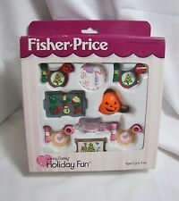 NEW Fisher Price Loving Family Dollhouse HOLIDAY FUN Christmas Valentines 1999