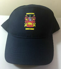 Baird coat of arms printed baseball hat