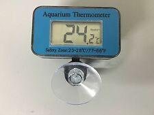 Digital LCD Waterproof Fish Aquarium Water Tank Temperature Thermometer Meter UK
