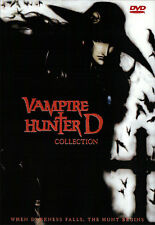 Vampire Hunter D Movies Collection (Anime DVD)