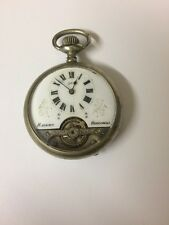 Antique Hebdomas 8 Day Pocket Watch - Works, But Needs A Repair