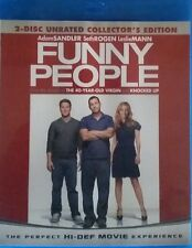 FUNNY PEOPLE NEW BLU RAY 2-DISC UNRATED MOVIE ADAM SANDLER,SETH ROGEN,JONAH HILL