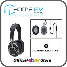 Master & Dynamic MH40 Over Ear Headphones Remote & Mic- Alcantara & Gun Metal