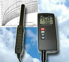 TOP DIGITAL THERMOHYGROMETER PSYCHROMETER TAUPUNKT  T11