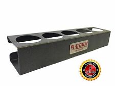 Plattinum Spray Can Holder 5 Cans Hangs Over Toolbox Aluminum Made in USA