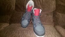 Men's Nike Air Flight AC Red/Grey/White Sz 10.5 High-Top Sneakers 577128-003