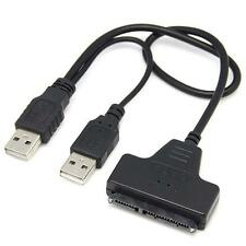 USB 2.0 SATA 7+22Pin a USB 2.0 Cavo Adattatore Fr 2.5 HDD AM